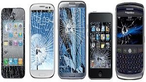 Broken Smashed Cracked iPhone Android Samsung LG Huawei