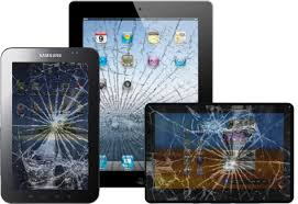iPad Android Tablet Cracked Broken Smashed Screen