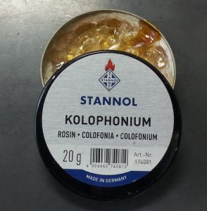 Kolophonium Rosin for Soldering