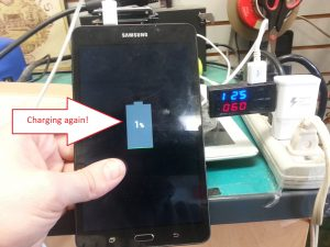 Samsung Galaxy Tab A Charging Port Replacement